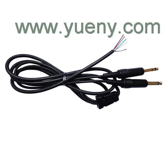 replacement main cable for aviation headsets mono. Black Bedroom Furniture Sets. Home Design Ideas