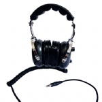 carbon fiber OTH ( over the head) racing headset CFRH-2000F flexible boom