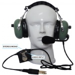 ANR aviation headset ANR AH-2000
