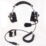 ANR helicopter pilot headset ANR AH-2080H